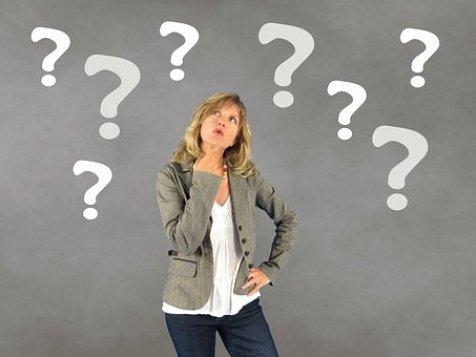 Woman, Question Mark, Person, Decision