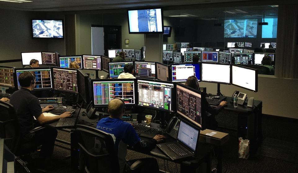 宇宙センター, Spacex社, コントロールセンター, ロケット科学, コンピューター, コント ローラー
