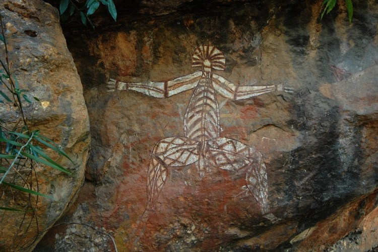 Kakadu National Park, Australia, Rock Painting, Man