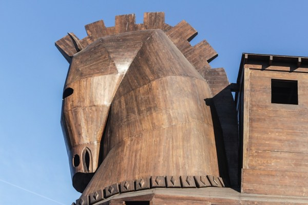 The Trojan Horse, a decoy used by The Greeks when admitting defeat after years of war. Source: Pixabay