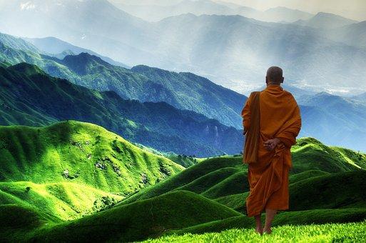 仏教, 修道士, 瞑想, 悟り, 宗教, 信仰, 祈り, 人間, 修道院