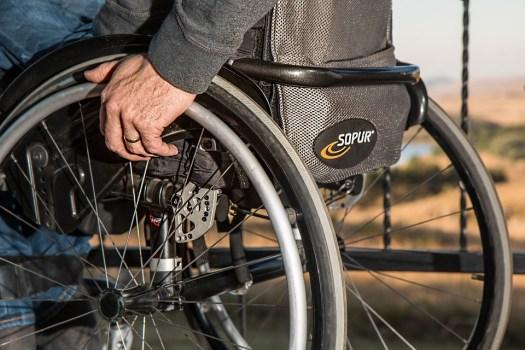 Sedia A Rotelle, Disabilità, Feriti, Disabili