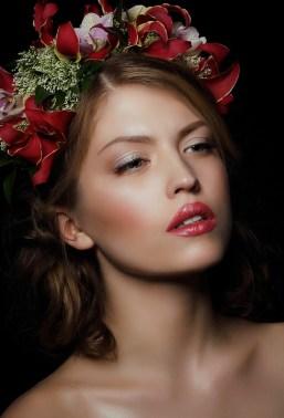 Woman, Portrait, Model, Bust, Skin, Makeup, Cosmetics