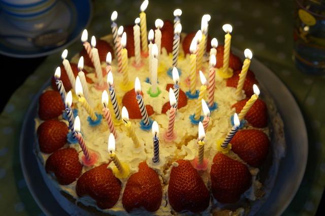 Free Photo Birthday Cake Burn Candles Free Image On Pixabay 757103