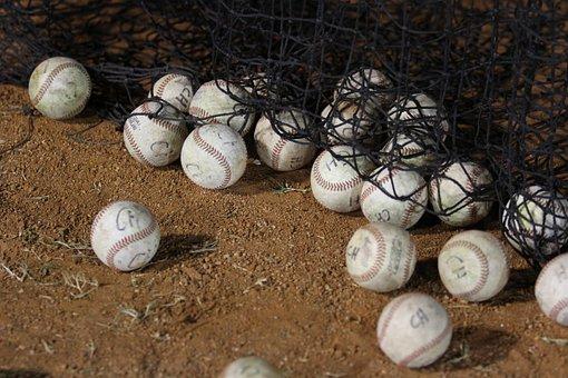 野球, ボール, トレーニング, スポーツ