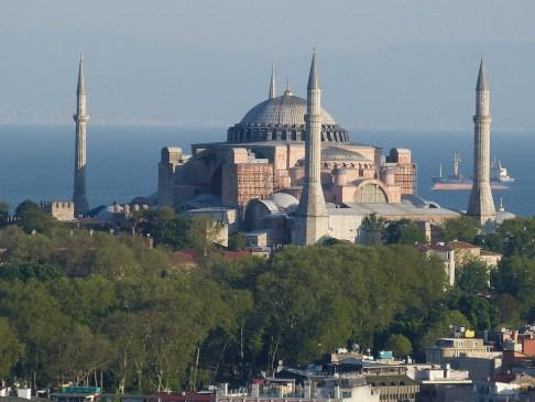 Istanbul, Turcja, Bosfor, Bosphorus, Morze, Outlook