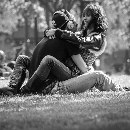 Coppia, Gioventù, Innamorato, Parigi, Parco