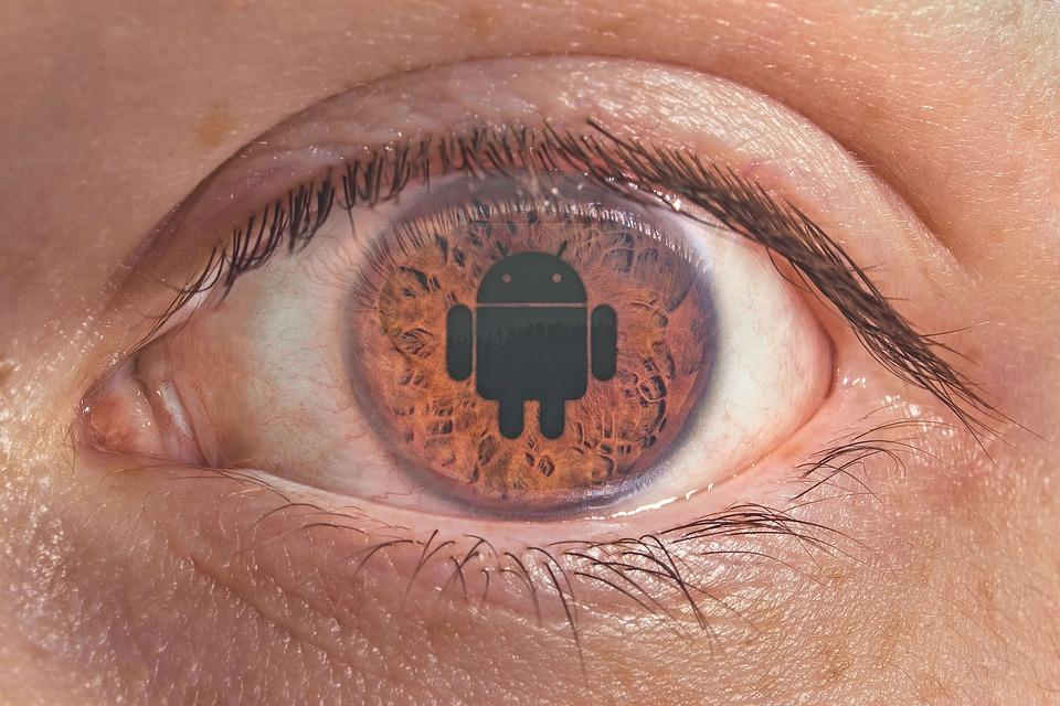 Eye, Android, Iris, Brown, Fanboy, Smartphones