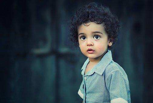 子, 少年, 肖像画, 子供, 人, かわいい