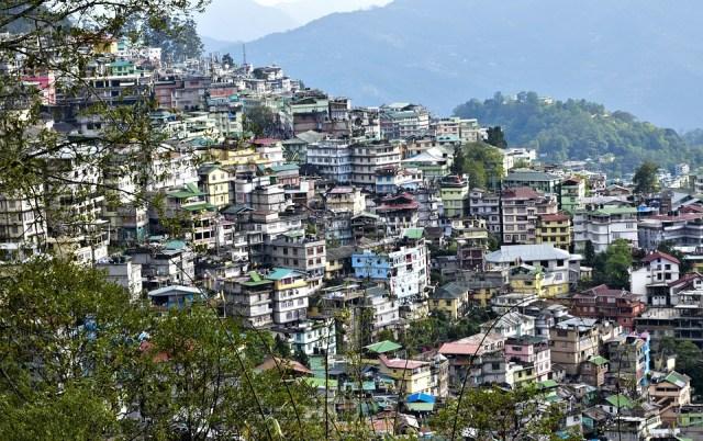 Landscape, Gangtok, Sikkim, India