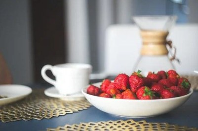 Strawberries, Breakfast, Fruit, Food