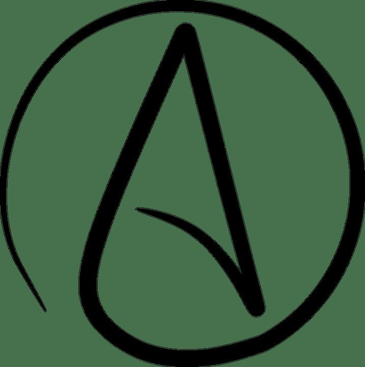 Atheist, Atheism, Symbol, Icon, Generic, Disbelief