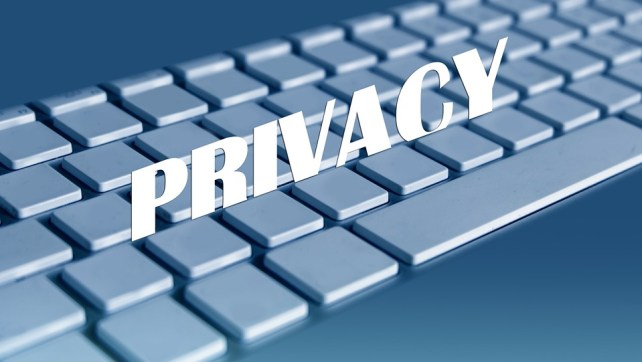 Keyboard, Computer, Empty, Private, Privacy Policy
