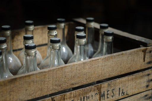 木枠、ビール、ヴィンテージ、アンティーク、アルコール