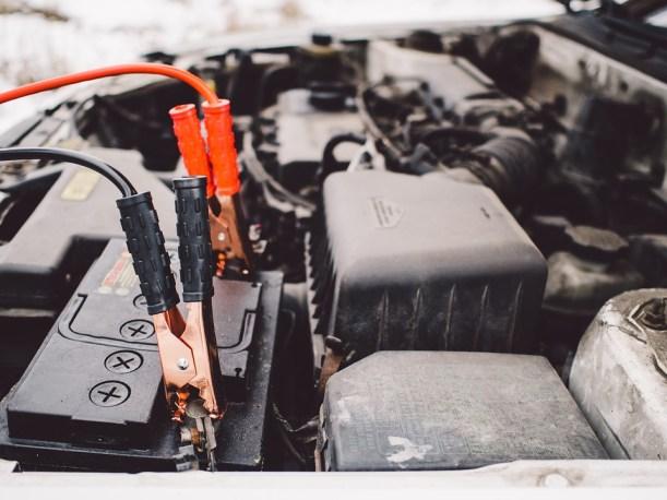 Jumper Cables, Battery, Engine, Car, Automotive