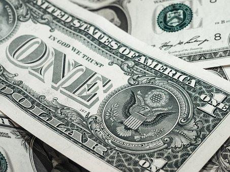 Bank Notes, Dollar, Us Dollars, Usd