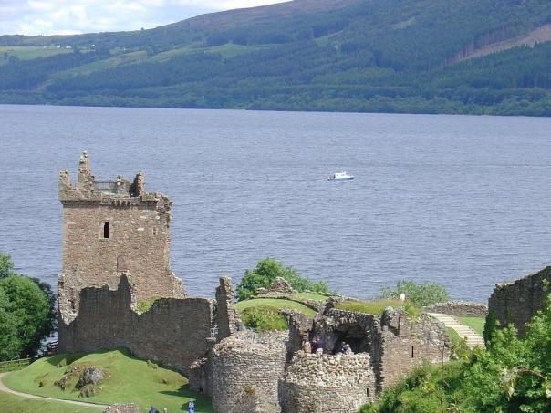 Scottish Castle, Urquhart Castle, Loch Ness, Loch