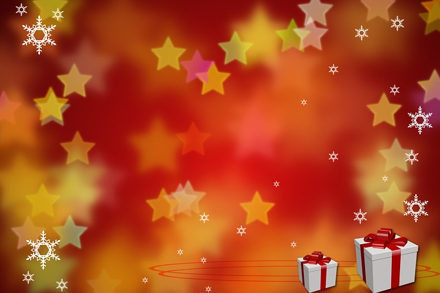 Free Illustration Star Gift Background Free Image On