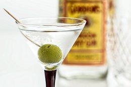 Cocktail, Martini, Gim, Bebida, Vidro
