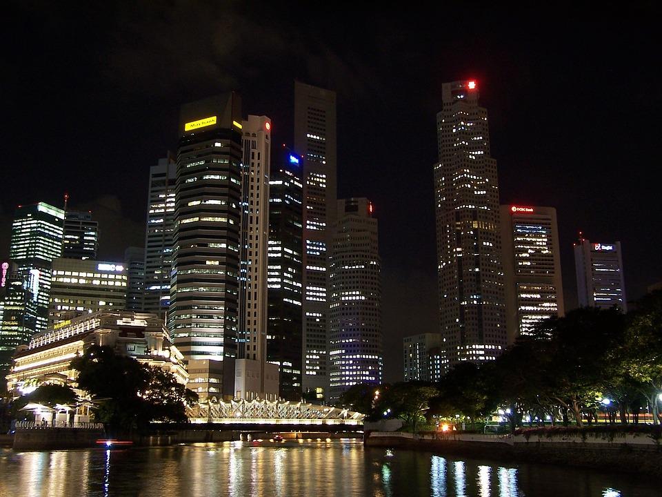 Night, City, City At Night, Urban, Architecture