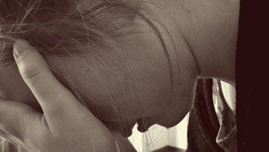 Mujer, Desesperado, Triste, Lágrimas