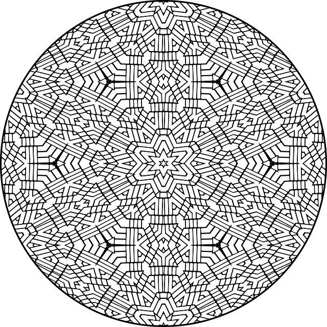 Free Illustration Mandala Pattern Colour Design Free