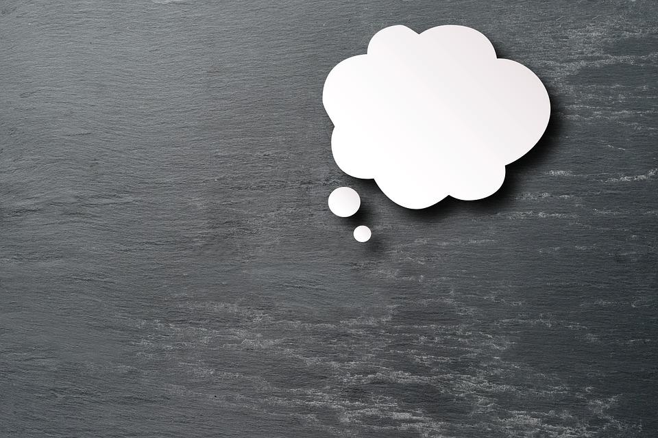 Thought, Cloud, Idea, Paper, Cut Out, Opinion