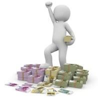 お金, ユーロ, 利益, 通貨, ドル紙幣, ビル, 金融, 札, 成功