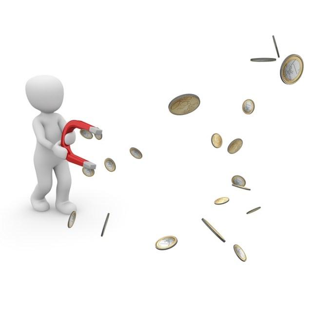 Money, Magnet, Success, Wealth, Profit, Income