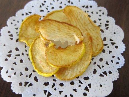 Chips De Maçã, Fruta Desidratada