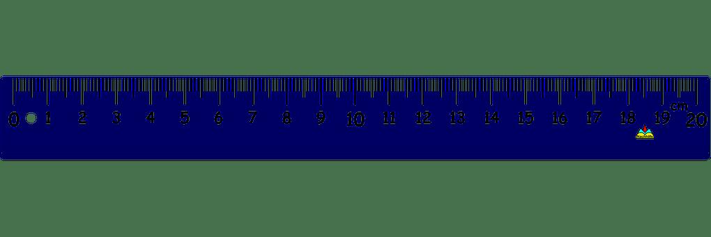 Me Show 17 Ruler Centimeter