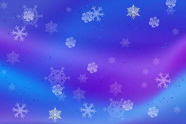 Snow Blues Purples Free Image On Pixabay