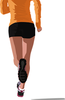 Sports Runner Health Fitness Athlete Run E