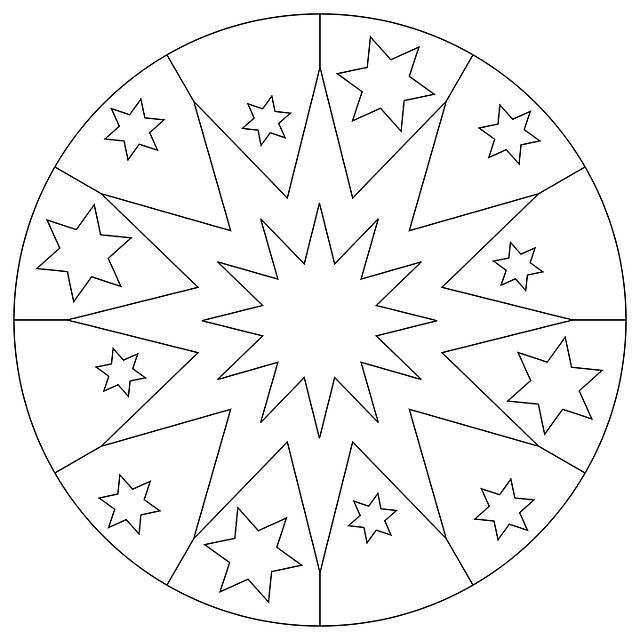 Mandala Star Christmas Free Image On Pixabay