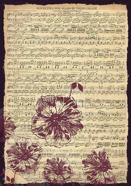 Vintage Musique Feuille Image Gratuite Sur Pixabay