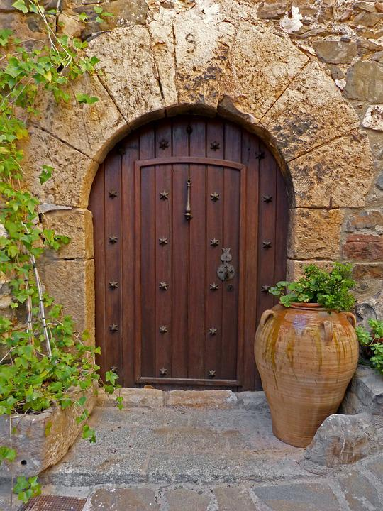 Free Photo Old Door Arc Beauty Medieval Free Image