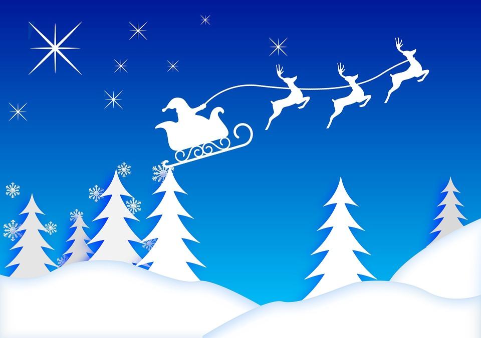 Free Illustration Santa Claus Christmas Card Free