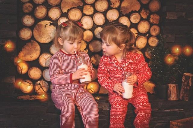 Navidad Niños, Galletas Y Leche, Navidad, Las Cookies