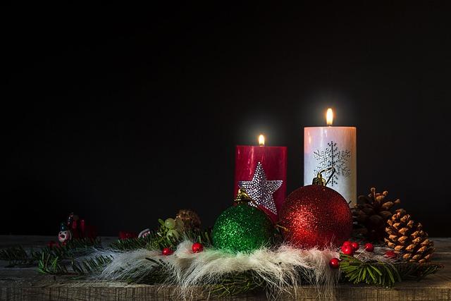Christmas Candles Flame Free Photo On Pixabay