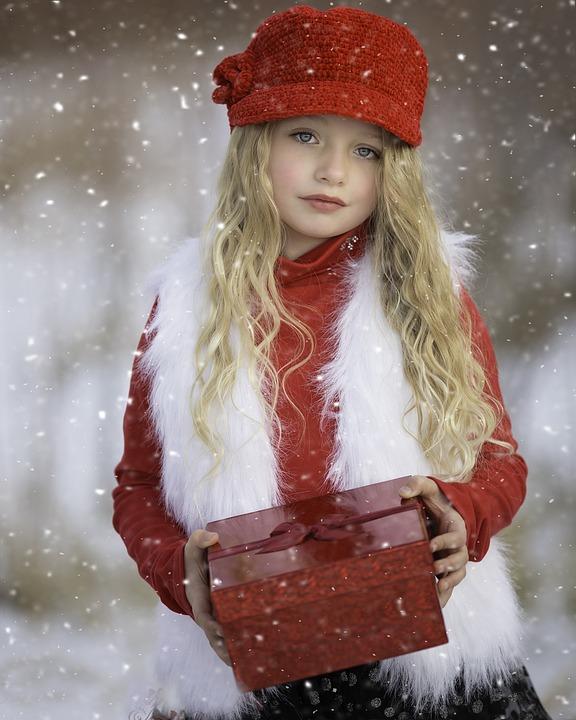 País das maravilhas do inverno, vermelho, neve, frio, estação, natal