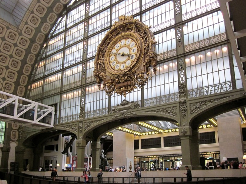 Musée D'Orsay, Horloge, Paris, Musée, France, Orsay