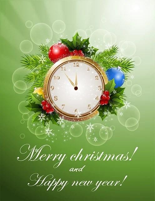 Nieuwjaar Kerst Kaart Gratis Afbeelding Op Pixabay