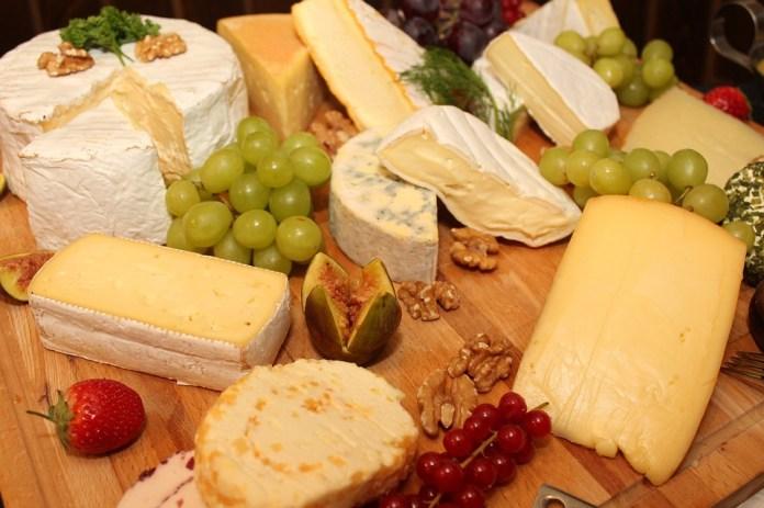 Käseplatte, Cheese, Buffet, Cold Buffet, Salad, Food