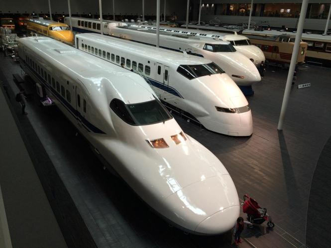 Liburan ke Jepang, Naik shinkansen dong