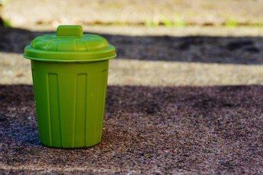Poubelle Garbage Seau Vert Poubelles Des D