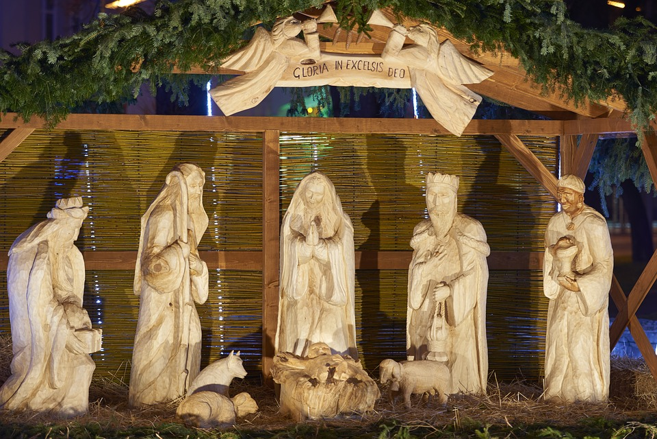 Free Photo Christmas Nativity Scene Carved Free Image