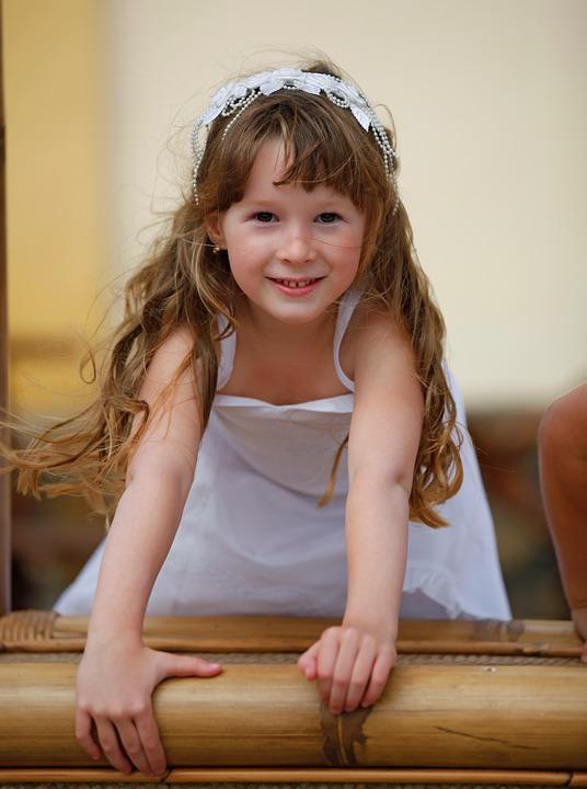 Free Photo Child Wedding Baby Girl Dress Free Image