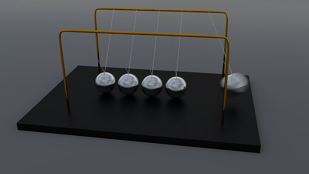 Newton'S Pendulum, Spherical Ball Joint