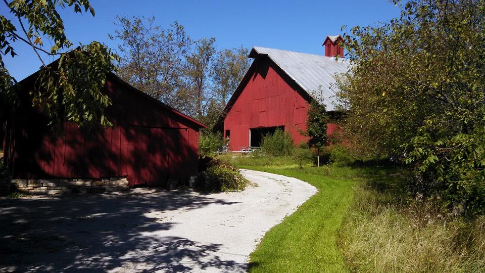 Barn Iowa Farm Free Photo On Pixabay