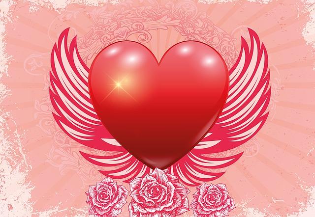 Liebe Herz Flgel Kostenloses Bild Auf Pixabay